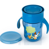 Чашка непроливайка Philips Avent 260 мл -синяя