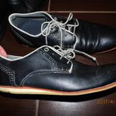 (i003) кожаные туфли 41-42 размера