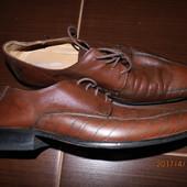 (i006) фирменные кожаные туфли 46 р Pierre Cardin