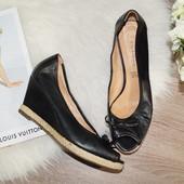 (37р./24,5см) 5th Avenue! Кожа! Красивые стильные туфли