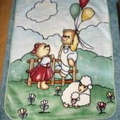 Детское классное тёплое одеяло 110*140