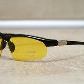 Очки для водителей желтые, антифары позяризованные