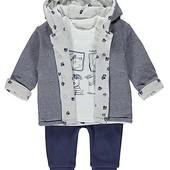 Комплект куртка реглан штанишки George 6-9М