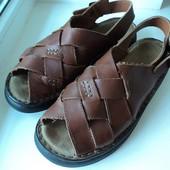 кожаные босоножки сандалии из Англии  рр42-43