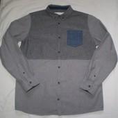 """рубашка плотная """" Matalan  """" 12-13 лет 100%котон"""