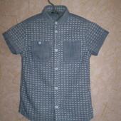 рубашка тениска  George  7-8  лет 122- 128 см