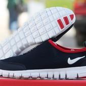 Кроссовки   Nike Free ran 3.0  т сині з червоним
