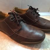 Туфли Clarks кожа размер 44 по стельке 29см, сост.новых