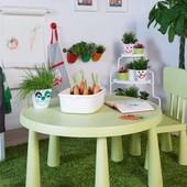 Яркий cтол + 2 стула, набор детской мебели маммут от Икеа Икея Ikea Лучшее качество В наличии!