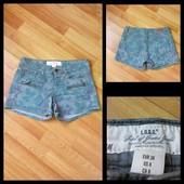 Фирменные джинсовые шорты H&M, размер 10\38