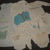 пакет одежды на 0-3 месяца