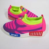 Летние стильные Мокасины  - кроссовки 27 - 32 размеры
