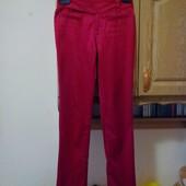 Атласные брюки размер S,M
