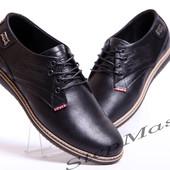 Мужские кожаные туфли Levis Б 53