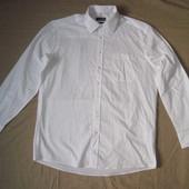 Charles Vogele (XL/41/42) рубашка белая мужская
