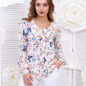 """Блуза """"Гаванна"""" 3 цвета."""