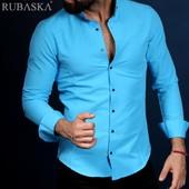 Мужские рубашки в голубых тонах