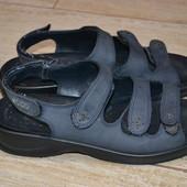 Ecco босоножки туфли 40р кожаные сандалии