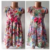 Платья для девочек. Детские летние платья.