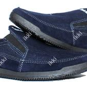 Летние мужские джинсовые мокасины (БЛ-17ст)