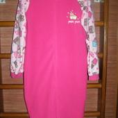Пижама флисовая,размер М, рост до 175 см