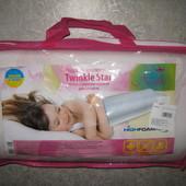 Подушка ортопедическая Twinkle Star система Memory розовая для девочек