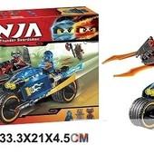 """Конструктор Bela Ninja 10579 (аналог Lego Ninjago 70622) """"Пустынная молния"""" 219 деталей"""