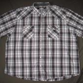 Angelo Litrico (5XL/51-52) рубашка мужская натуральная