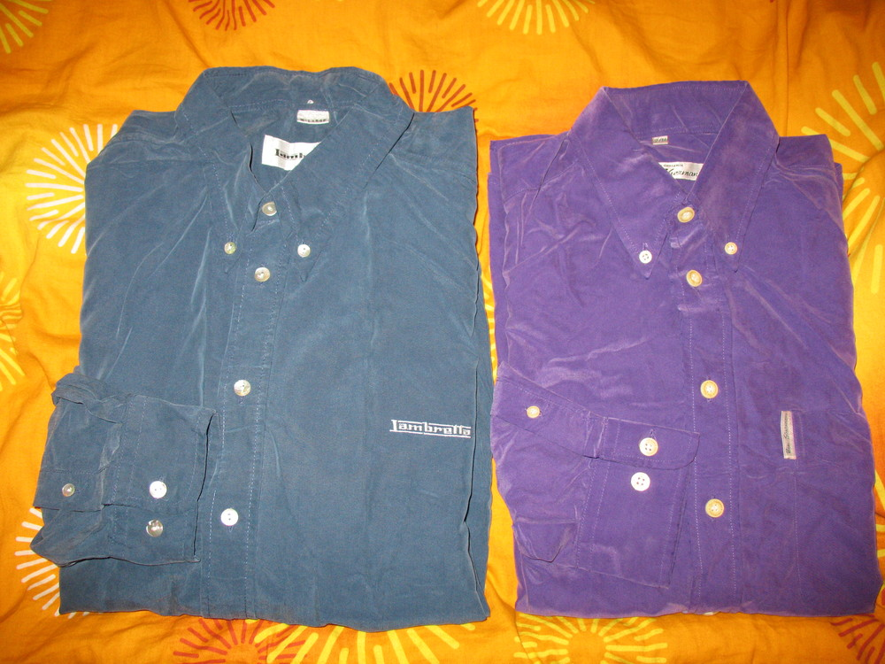 Рубашки мужские,полиэстер,р.52-54 и р.48( Ben Sherman).Одна на выбор. фото №1