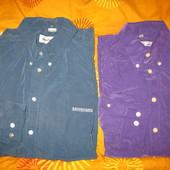 Рубашки мужские,полиэстер,р.52-54 и р.48( Ben Sherman).Одна на выбор.