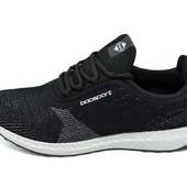 Мужские кроссовки Baasport Style 635 черные (реплика)