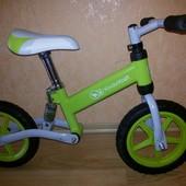 Металлический велобег с амортизатором EVO марки KinderKraft