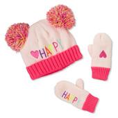 Набор  шапка і рукавички Childrens Place  2-3Т
