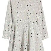 Платье для девочки с рукавами HM р.134-140 (арт.45001)