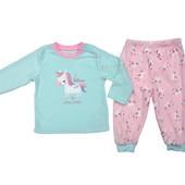 Флис пижама для девочки (86 см) Primark. Читать описание!