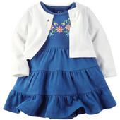 Платье и кардиган в комплекте Carters