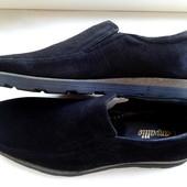 Туфли-мокасины замшевые. Размеры 41, 42 и 43 в наличии