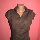-20% від вказаної ціни рубашка,блуза р-р 12\40 стрейч,сост новой H&M