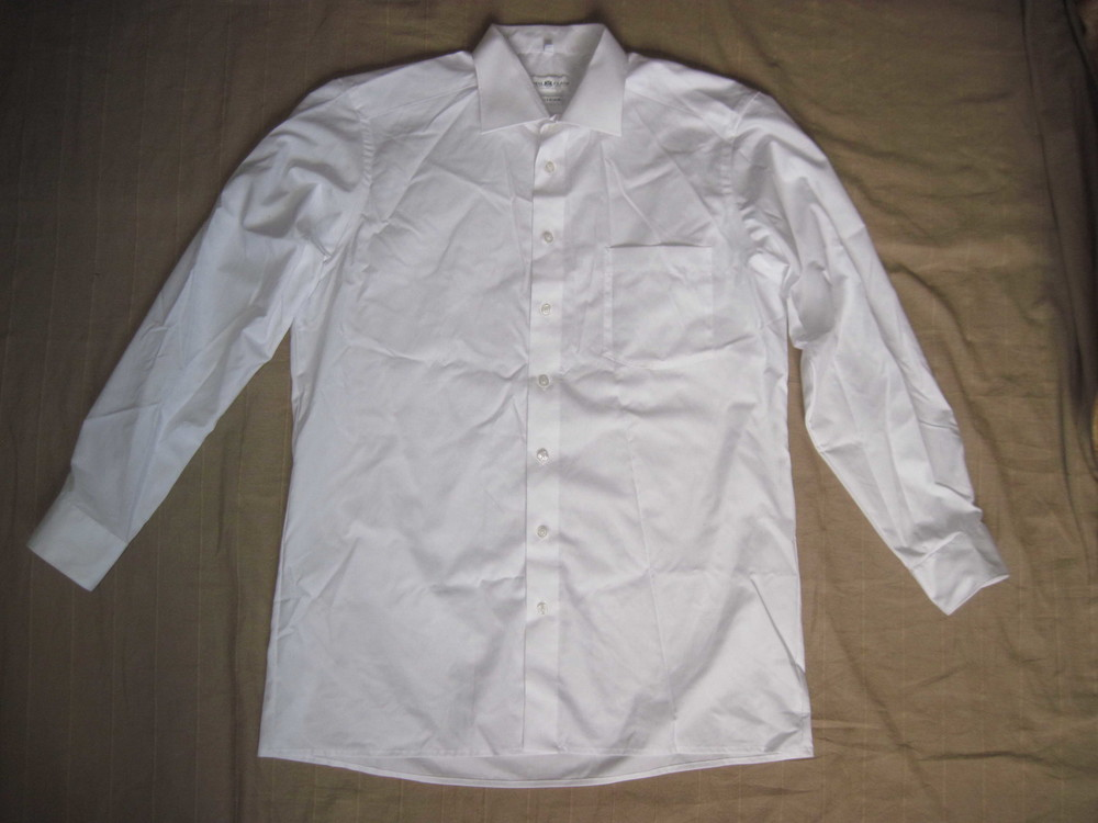 Royal Class Vollzwirn (XL) рубашка белая мужская натуральная фото №1