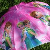 Италия. Спица карбон безопасный зонт зонтик трость для девочки Фрозен Холодное сердце Анна Ельза