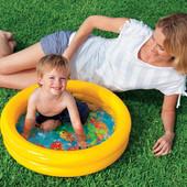 """Надувной бассейн - мини """"Водный мир"""" 61*15 см"""
