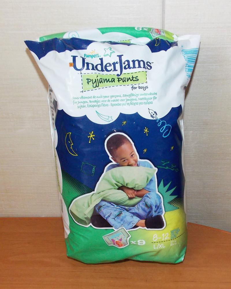 Новая упаковка памперсов-трусиков для ребенка 8-12 лет, 17-29 кг фото №1