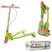 Самокат детский дрифт 3-х колесный JR 3-017 I-Trike