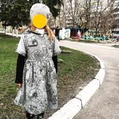 Очень красивое пальто на девочку 4-7 лет