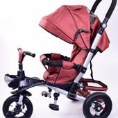 Детский трехколесный велосипед  (TR20106) с корзинкой