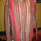 Рубашка мужская,фланелевая,р.52-54,по вороту-43/44.Forecast (форесткаст).