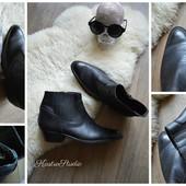 Байкерские ботинки-мотоботинки кожа,р-р 45 Испания
