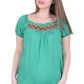 кофточка блуза туника из хлопка для беременной