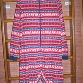 Пижама флисовая, мужская, размер М рост до 180 см