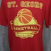 Качественная футболка для занятий спортом ,  сша ,  размер Л